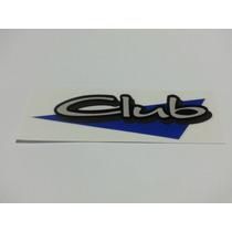 Emblema Volkswagen Adesivo Parati Club