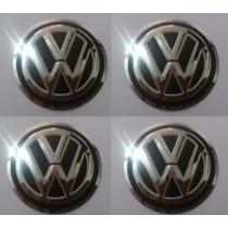Emblemas Volkswagens Aluminío Calota Ou Roda 55 Mm + Brinde