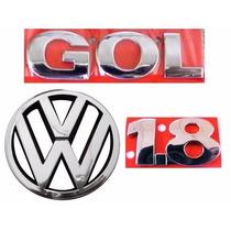 Emblema Gol G3 + 1.8 + Vw Grade- Geração 3 - Modelo Original