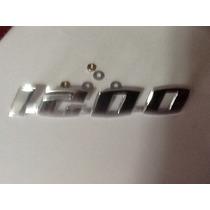 Emblema 1200 Do Fusca ,tampa Do Motor