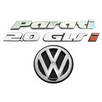 Emblemas Parati Bola 2.0 Glsi + Vw Mala - Modelo Original