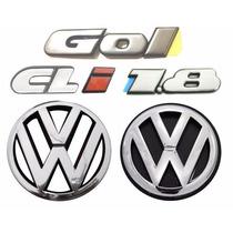 Emblemas Gol Bola Cli 1.8 + Vw Grade E Mala- Modelo Original