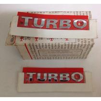 Emblema Turbo Parati E Gol 16v Turbo Crossover Original Vw