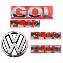 Emblemas Gol G3 Plus + Vw Grade- Geração 3 - Modelo Original