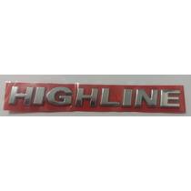 Emblema Highline Volkswagen Voyage Gol Golf + Brinde