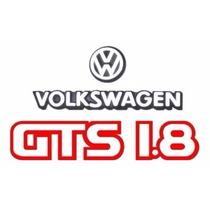 Kit Adesivos E Emblemas Gol Gts - Até 1990 - Modelo Original