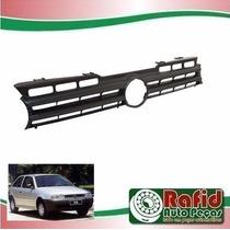 Grade Radiador Gol/parati/saveiro 96/99 Preta