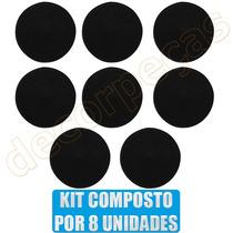 Kit Tampa Tampão Dobradiça Pino Porta Fusca 59 -96 C/ 8peças