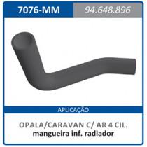 Mangueira Inferior Radiador Com Ar Quente Caravan:1985a1992