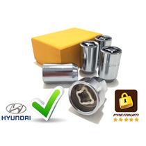 Kit Porcas Antifurto De Rodas Premium 4x1 - Hyundai I30