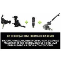 Caixa Direção Semihidráulica Kombi -kit Direção Mais Leve