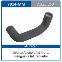 Mangueira Inferior Radiador Motor 4 Cilindro Opala:1968a1980