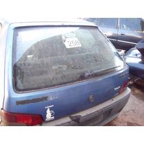 Vidro Vigia Traseiro Tampa Traseira Do Peugeot 106 Ano 96 2p