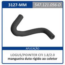 Mangueira Duto Rigido Coletor Motor 1.8 | 2 Escort:1989a1995