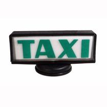 Luminoso Para Teto De Taxi Retangular Com Base De Íma