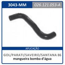Mangueira Bomba D¿agua 026.121.053.a Gol:1986a1994