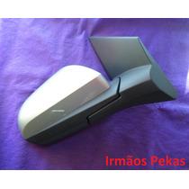 Retrovisor Onix Prisma Elétrico 13/15 Capa Prata L/d