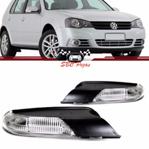 Par Pisca Retrovisor Golf Polo 2008 2009 2010 2011 Original