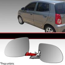 Lente Retrovisor Kia Picanto 2011
