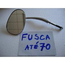 Retrovisor Fusca Pino De Porta! Metal Cromado! Novo!
