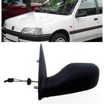 Retrovisor Peugeot 106 96 A 03 Manual C/c Lado Esquerdo
