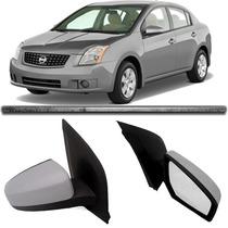 Retrovisor Nissan Sentra 2007 2008 2009 2010 2011 Direito