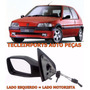 Retrovisor Peugeot 106 Ano 1998 1999 2000 2001 Manual L/esq
