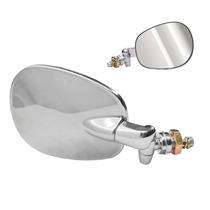 Espelho Retrovisor Fusca Cromado Original Em Inox Dir E Esq