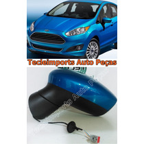 Retrovisor New Fiesta Ano 2012 2013 2014 2015 Original L/e