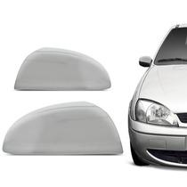 Kit Aplique Retrovisor Cromado Ford Fiesta 2002/...