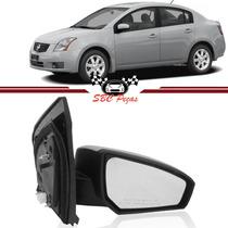 Retrovisor Nissan Sentra 2007 2008 2009 2010 2011, Direito