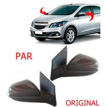 Par Retrovisor Eletrico Prisma Onix 2013 2014 2015 Original