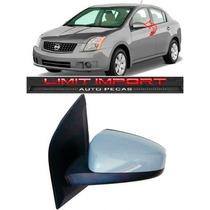Retrovisor Eletrico Nissan Sentra Esquerdo Ano 2008 2009