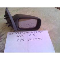 Retrovisor Fiesta 96 97 98 99 00 01 Fixo 2/4 Portas L/d