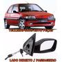 Retrovisor Peugeot 106 Ano 1998 1999 2000 2001 Manual L/dir