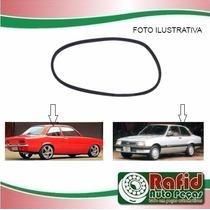 Borracha Janela Vidro Lateral Traseiro Chevette Sedan 73/94