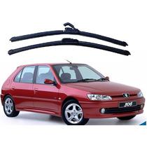 Jogo Palhetas Diant Limpador Parabrisa Peugeot 306 - 93 A 01