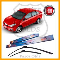 Palhetas Do Limpador Dianteiro Fiat Grand Siena 2012/...