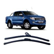 Jogo Palhetas Diant Limpador Parabrisa Ford Ranger 13 14 15