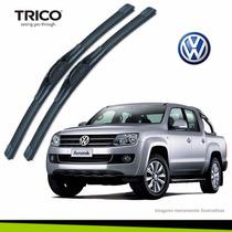 Palheta Limpador Para-brisa Volkswagen Amarok Original Trico