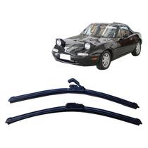 Par Palhetas Diant Limpador Parabrisa Mazda Mx-5 Miata 90-95