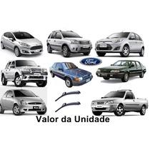 Palheta De Silicone Ford Focus Fiesta Hatch Sedan Fusion