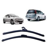 Par Palheta Limpador Parabrisa Dianteiro Peugeot 206/207 Tds