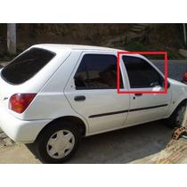 Vidro Porta Dianteira Direita Ford Fiesta 96 A 02 4 Portas