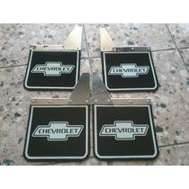 Lameira Chevrolet 4 Peças Material Inox C10 Antiga
