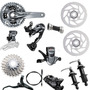 Grupo Shimano Alivio 2015 M4050 27 Vel Freio M447 Hidraulico