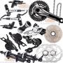 Grupo Shimano Deore M615 2014 20 Vel 2 X 10 Disco Hidraulico
