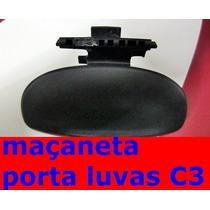 Citroen C3 Alça Puxador Maçaneta Porta Luva Original S/ Mola