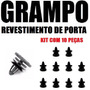 Kit Grampo Forro Porta Fox Gol Até 2010 - 10 Peças