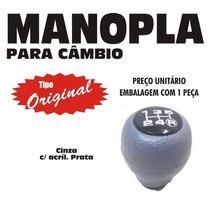 Manopla Cambio Tipo Original S10 Blazer Cinza - 40116